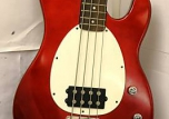 SAMICK ELECTRIC BASS GUITAR W/SOFT